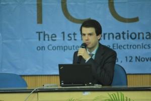 Stefan at ICCSE 2012